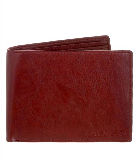 Laurels Genuine Leather Red Colo....