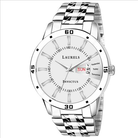 Laurels Essential White Dial DAY....