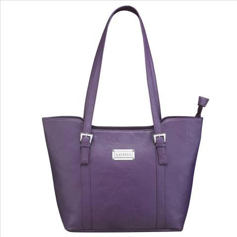 Laurels Tote Shoulder Handbag-Pu....