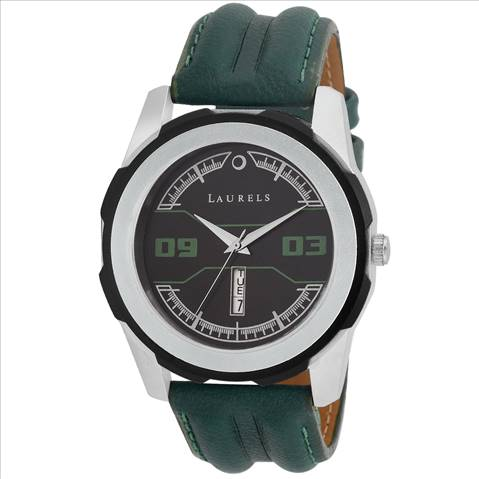 Laurels Green Color Day & Date A....