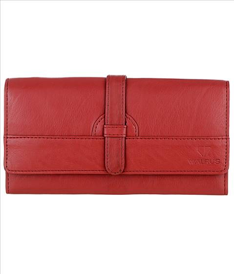 Walrus Red Leather Women's Hand ....