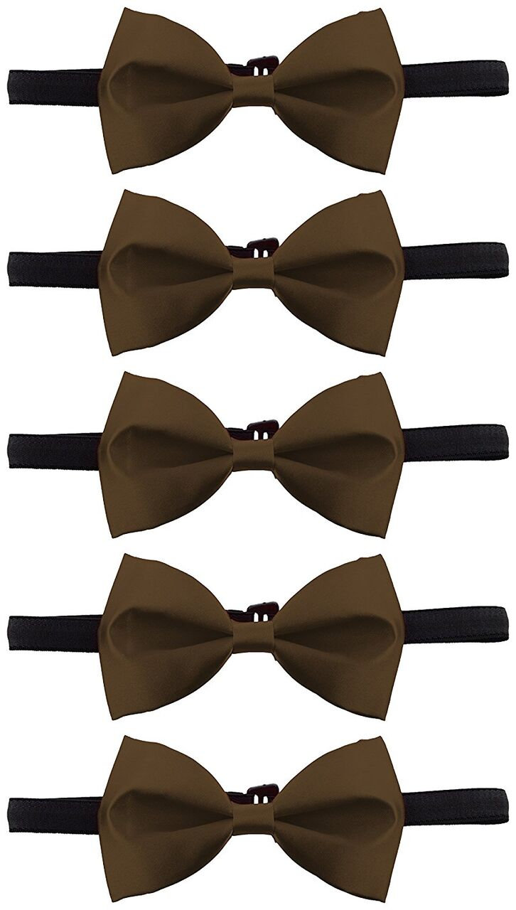 5 bow combo Brown