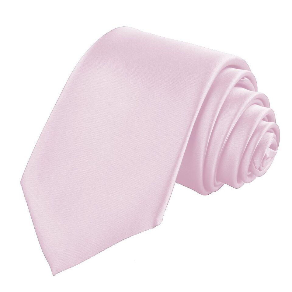 Men's Tie Classic Satin Slim Nec....